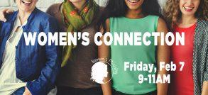 Women's Connection web banner 2-7-20